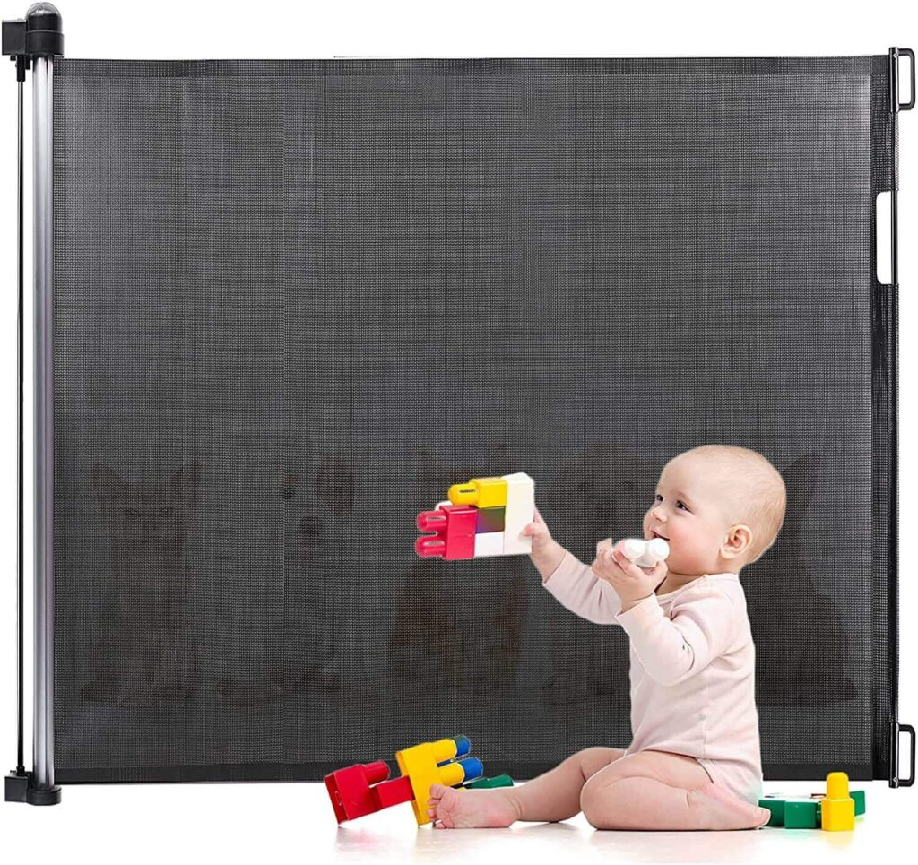 Eccomum Retractable Baby Gate for stairs