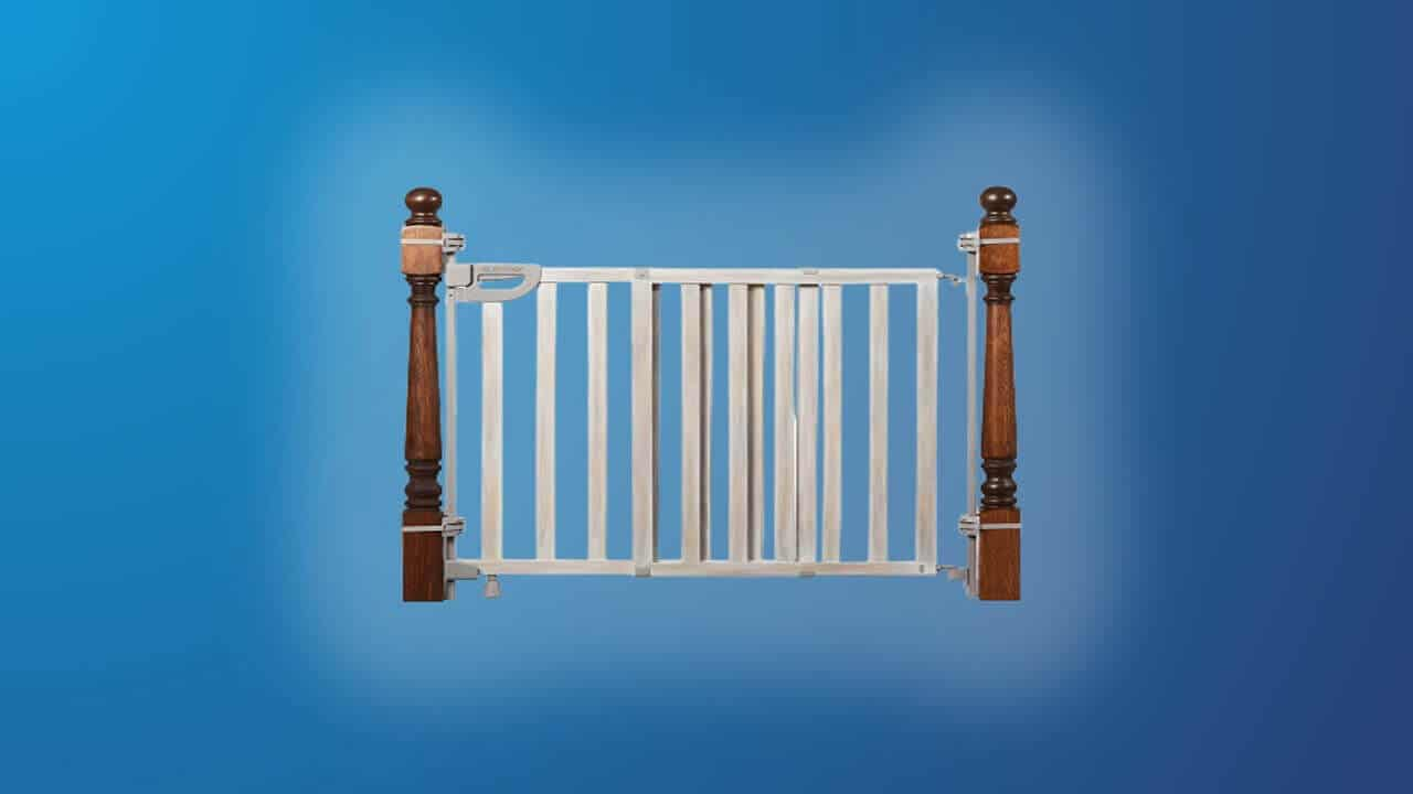Best Baby Gates for Stairs with Spindles