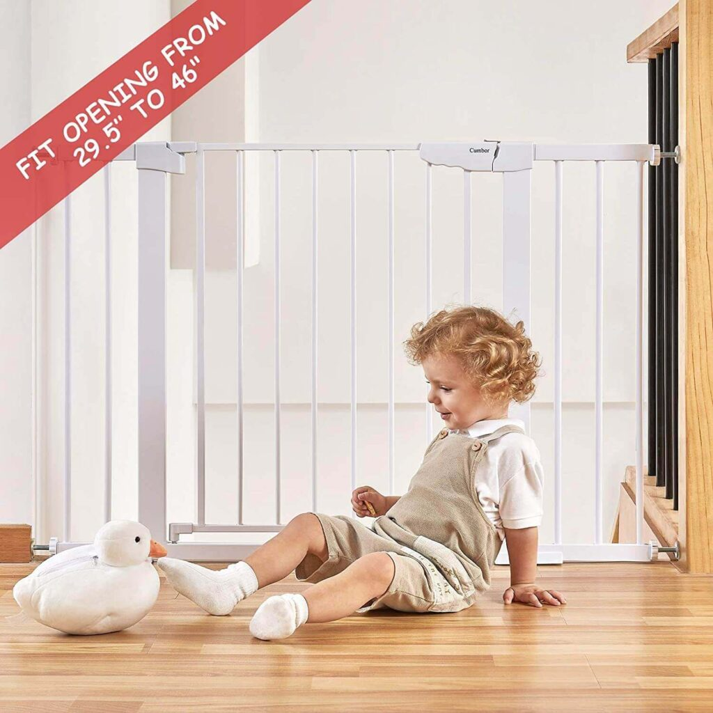 """Number 46"""" Auto Close Safety Baby Gate"""