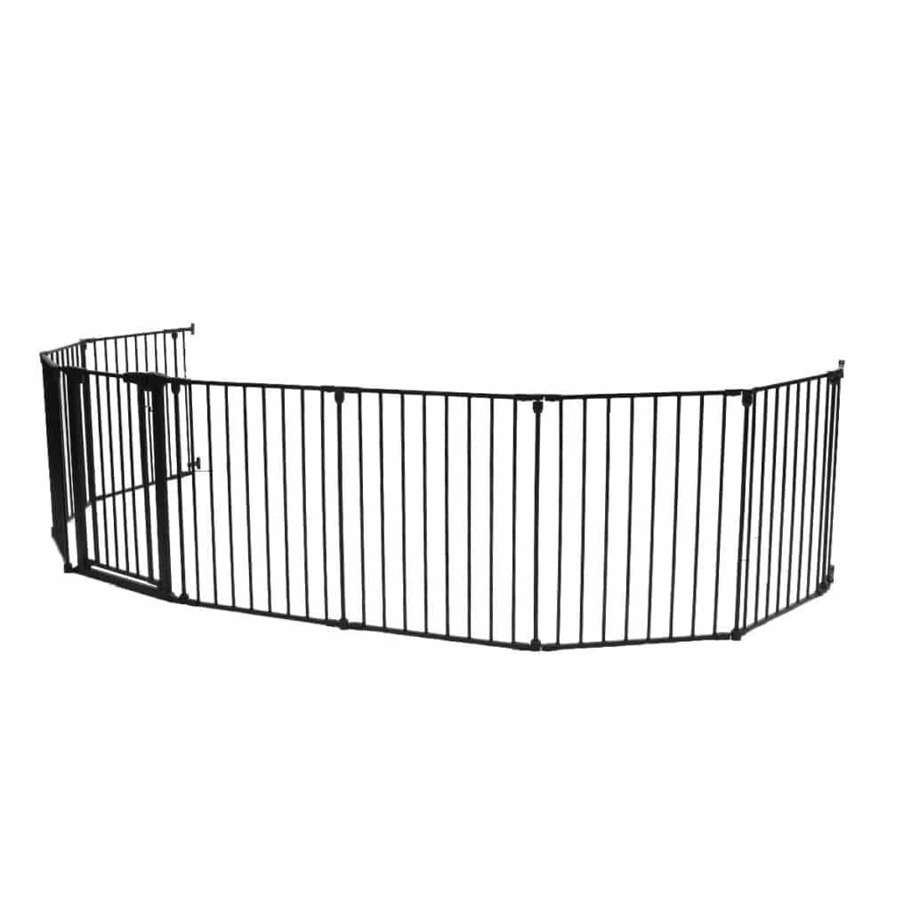 KingSo-Extra-Wide-Baby-Gate-8-Panel-baby-gates-for-spiral-stairs.