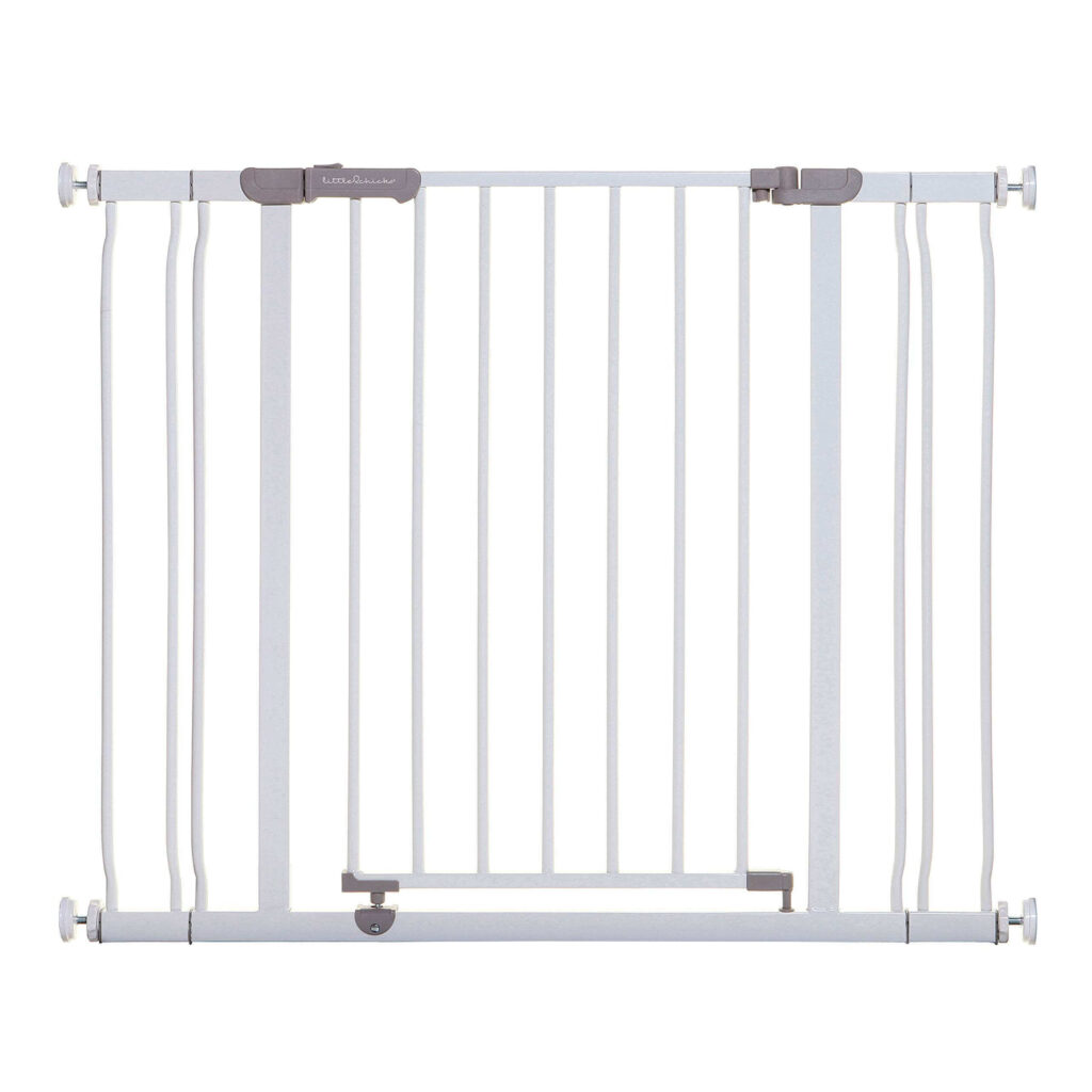 Little Chicks Winston Pressure Mounted Baby Safety Gate with Stay Open Feature
