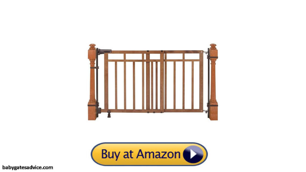 Summer Banister and Stair Gate with Dual Installation Kit