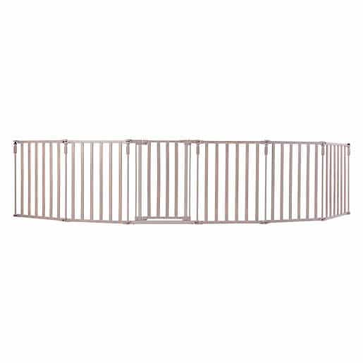 Toddleroo-by-North-States-3-in-1-Metal-Superyard-baby-gates-for-curved-stairs