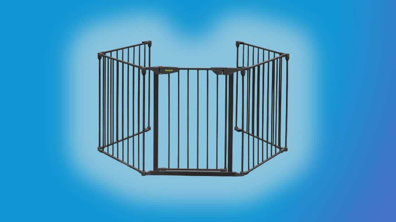 baby gates for spiral stairs