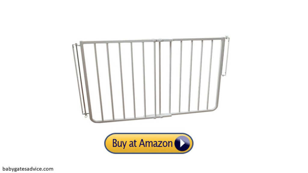 cardinal angle mounted baby gates for top of stairs