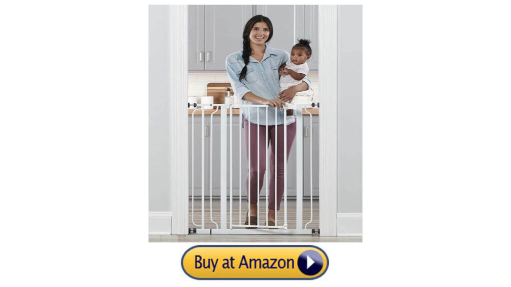 Regalo 2-in-1 Extra Tall Enough To Keep Cat From Jump over Gate