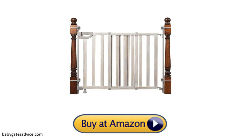 Summer Metal Banister and Stair Safety Baby Gate-baby gates for stairs with spindles