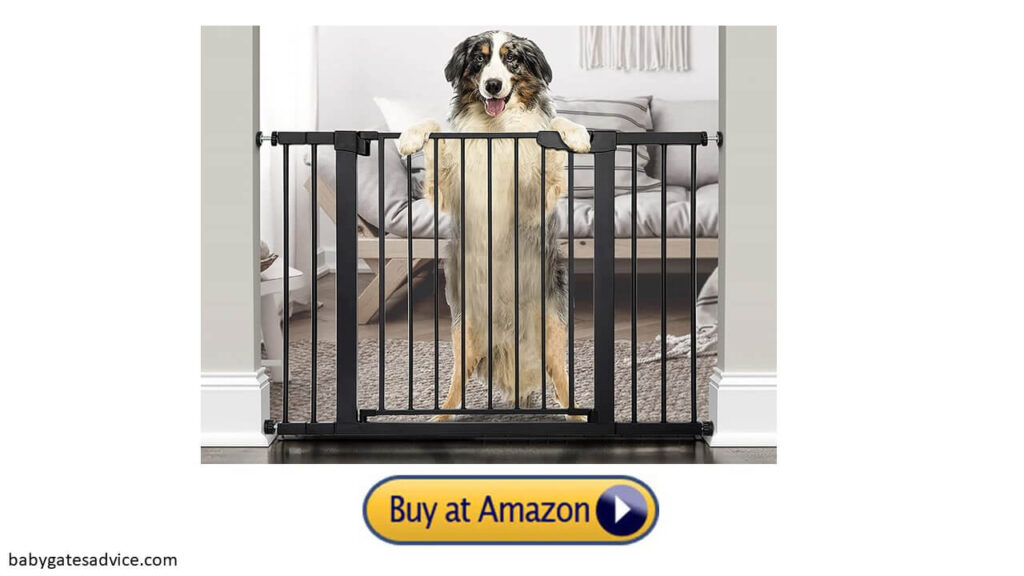 Cumbor-46-Extra-Tall-and-Wide-Dog-Gate-For-Stairs-With-Spindles