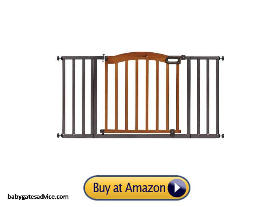 Summer-Decorative-Wood-and-Metal-Safety-Baby-Gate
