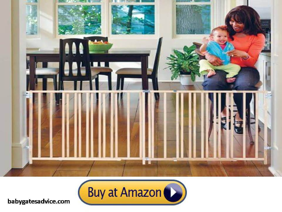 Toddleroo-by-North-States-103-inches-Extra-Wide-and-large-Baby-Gate