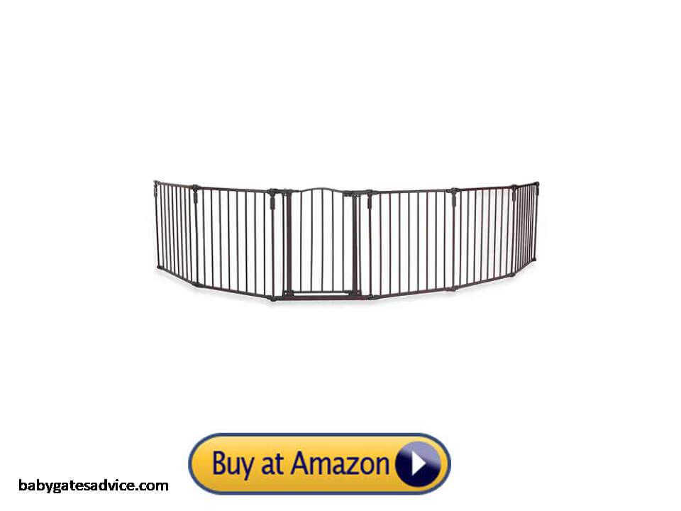 Toddleroo-by-North-States-3-in-1-Arched-Décor-Metal-Superyard-144-inches