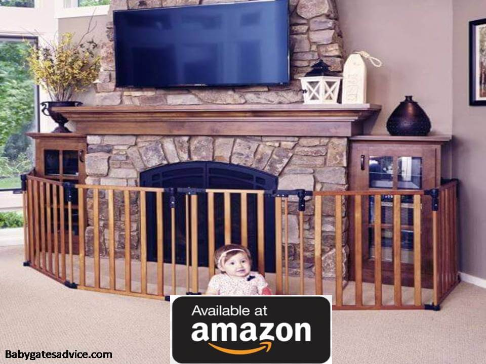 Toddleroo-by-North-States-3-in-1--Wooden-Baby-Gate-For-Stove