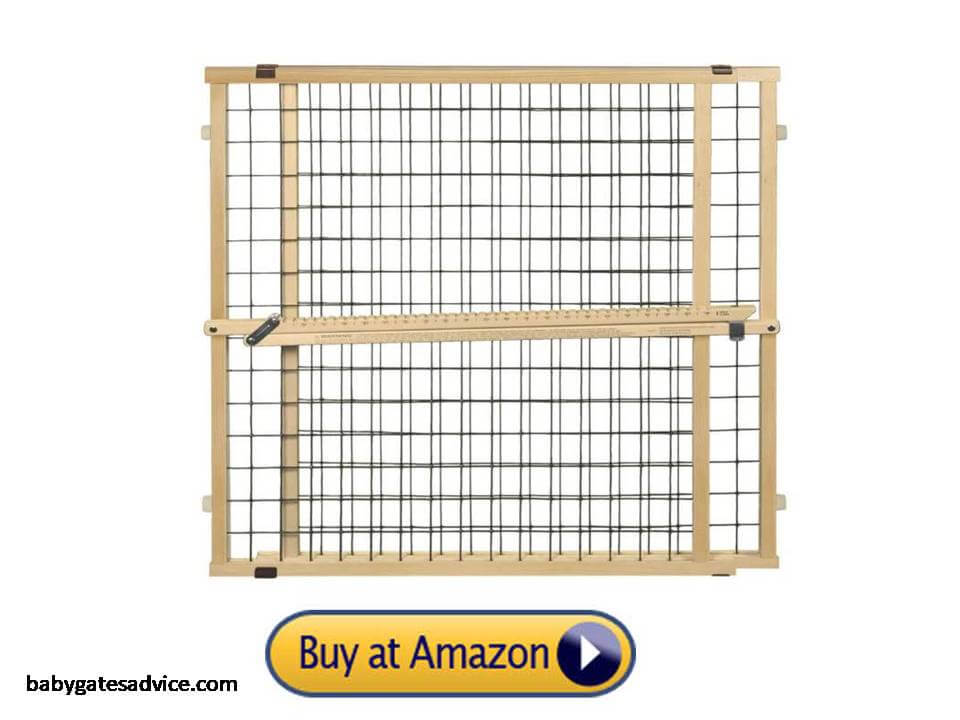 Toddleroo-by-North-States-50-inches-Extra-Wide-Wire-Mesh-Baby-Gate